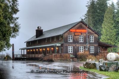 """Port Renfrew Hotel"" - Vancouver Island BC Canada"